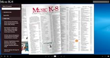 Music K-8 Interactive Index Flipbook, Vols. 1-29
