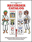 Music K-8 Marketplace: The Recorder Catalog 2013-2014