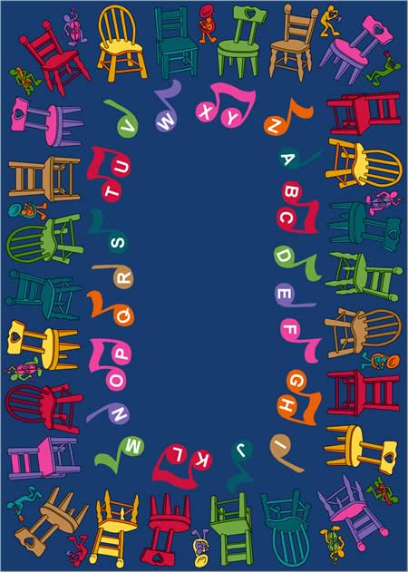 Images from Musical Chairs© Rugs