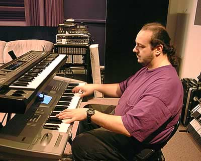 John Riggio At The Keyboard