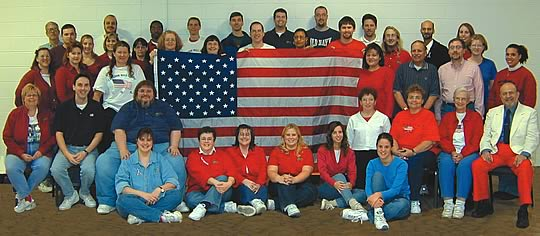 Staff Picture 2001