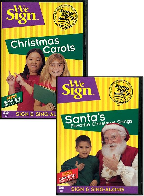 We Sign™ - Santa's Favorite Christmas Songs - DVD