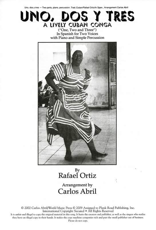 Uno, Dos Y Tres - A Lively Cuban Conga