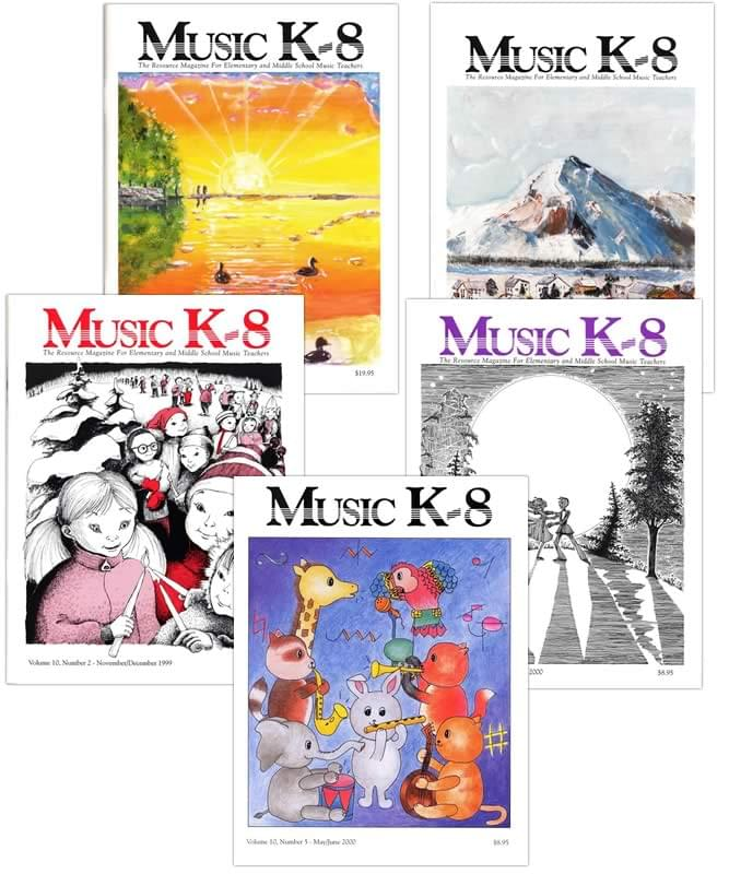 Music K-8 Vol. 10 Full Year (1999-2000)