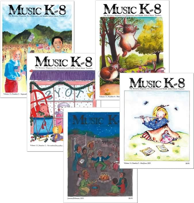 Music K-8 Vol. 13 Full Year (2002-03)