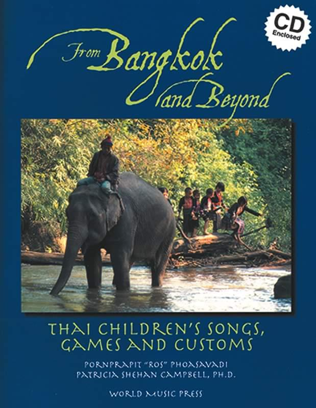 From Bangkok And Beyond - Thai Children's Songs, Games, Customs Cover