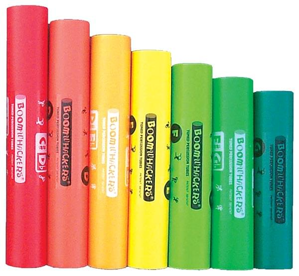 Boomwhackers® - Treble Extension Set - 7 tuned tubes