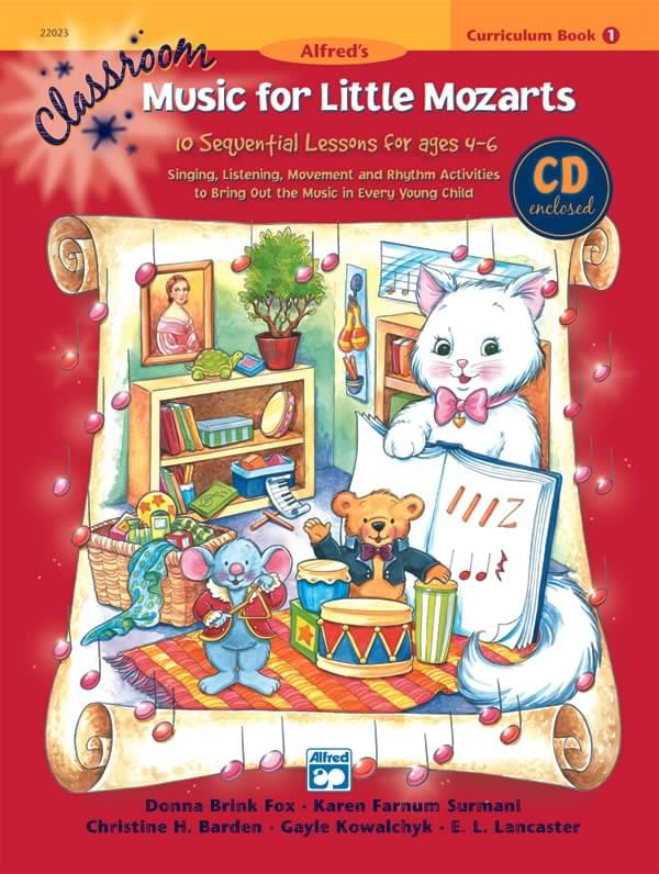 Classroom Music For Little Mozarts - Book 1 - Big Music Book