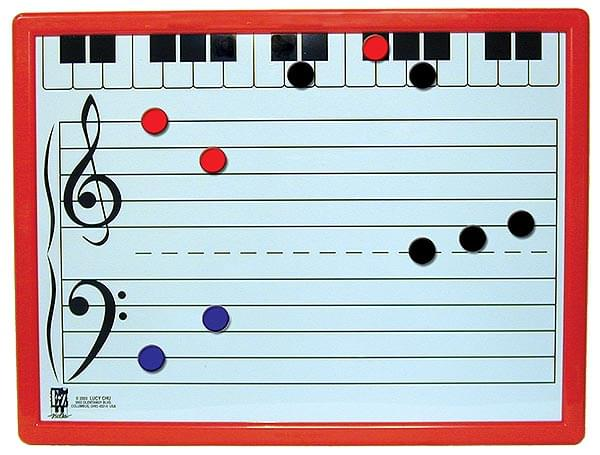 E-Z Notes - Magnetic Music Board