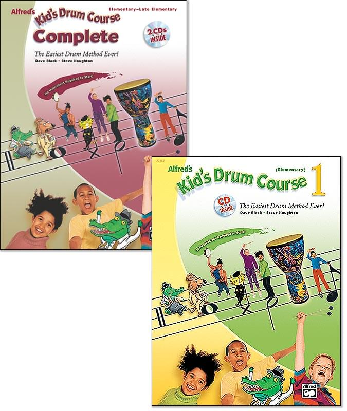 Kid's Drum Course 1 (Elementary) - Book/CD