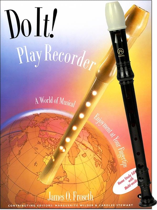 Do It! - Play Recorder Book/CD with Recorder