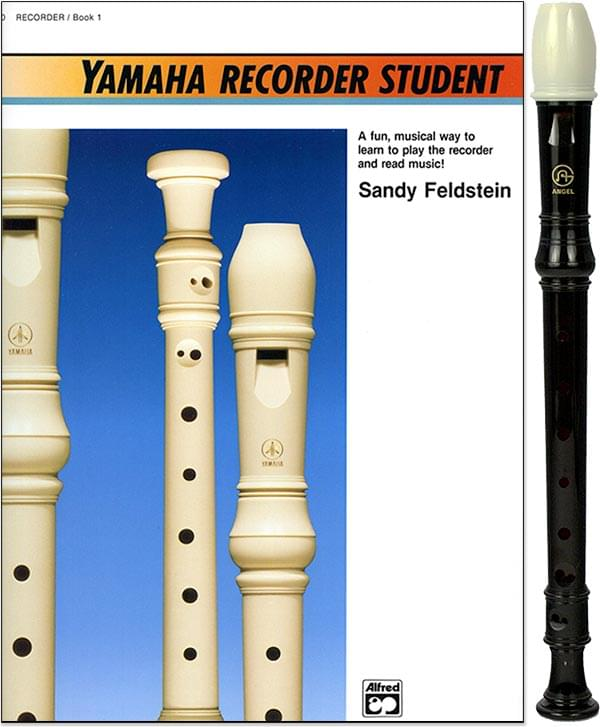Yamaha Recorder Student Book with Recorder