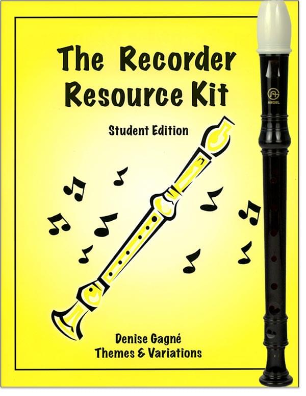 Recorder Resource, The - Student Book/CD, Vol. 1 with Recorder