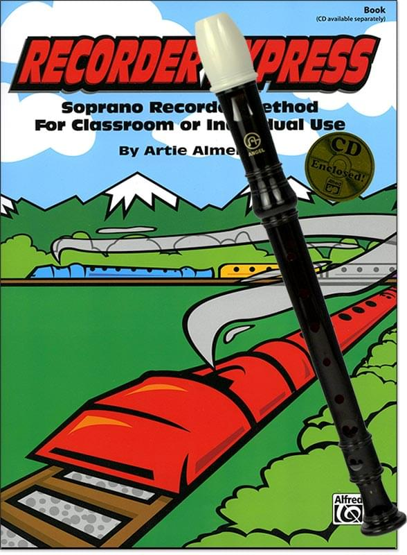 Recorder Express Book/CD with Recorder