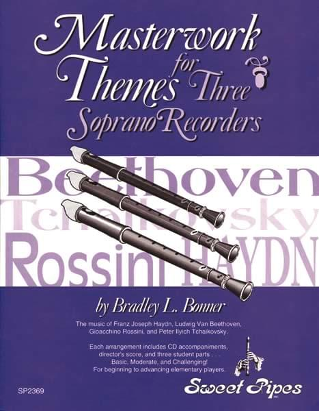 Masterwork Themes For 3 Recorders - Classroom Kit (Score, Parts, P/A CD)