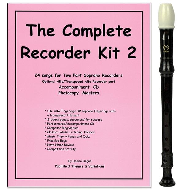 Complete Recorder Student Book/CD, Vol. 2 with Recorder