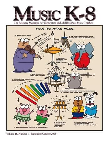 Music K-8, Vol. 16, No. 1