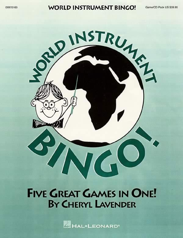World Instrument Bingo! - Game/CD Pak
