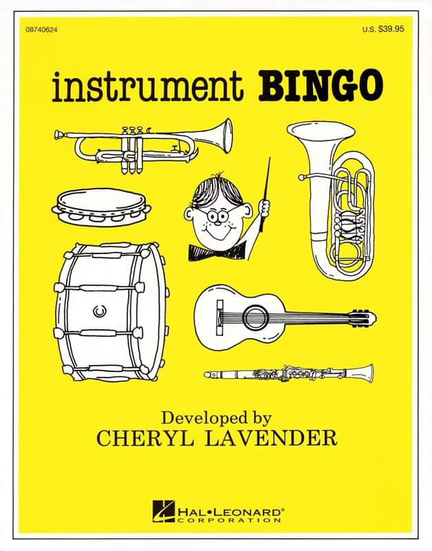 Instrument Bingo - Game/CD Pak