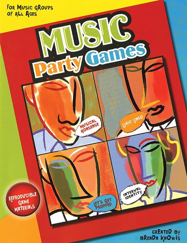 Music Party Games - Book