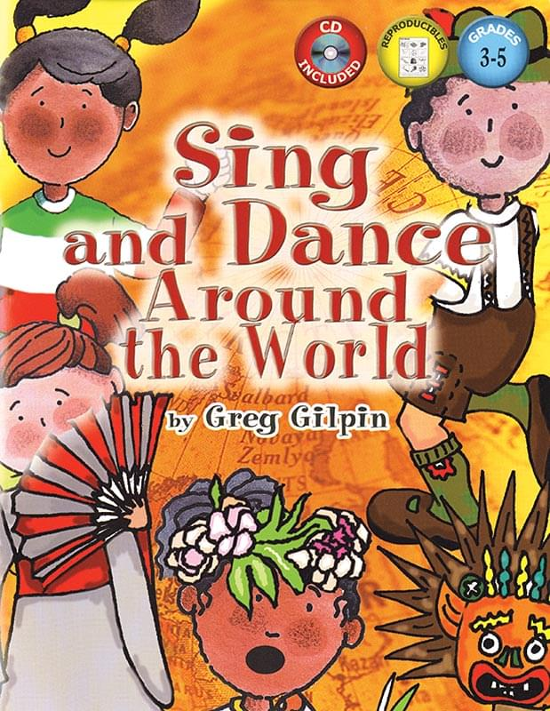 Sing And Dance Around The World - Book 1/CD