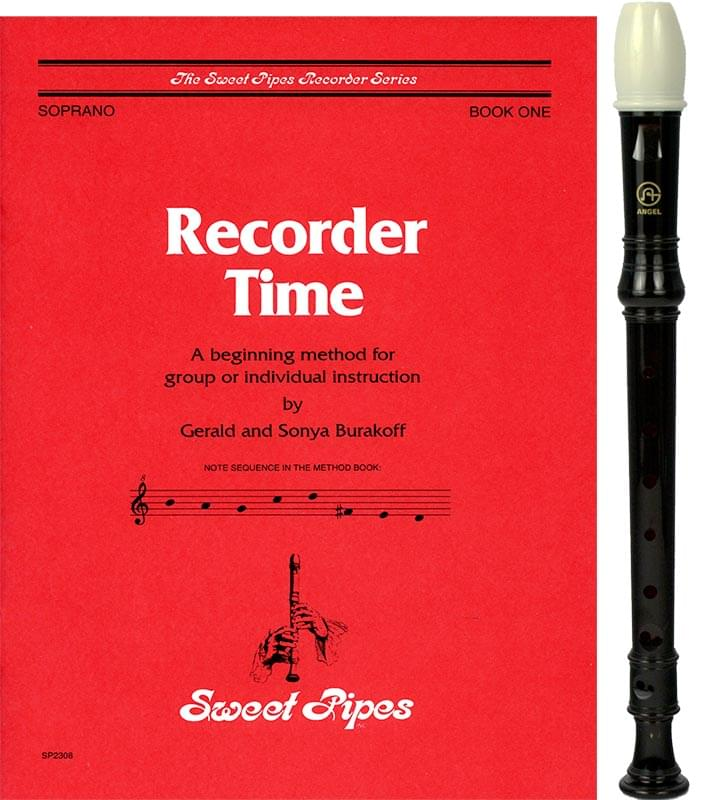 Recorder Time - Book 1 with Recorder