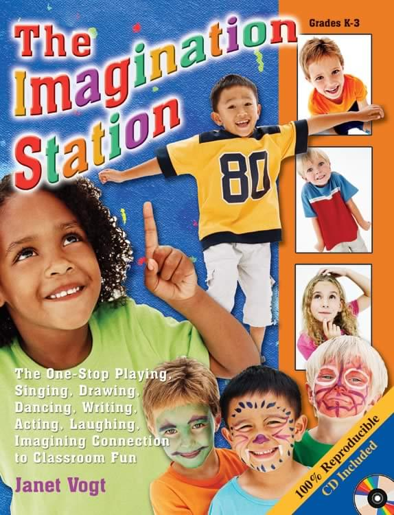 The Imagination Station - Book/CD