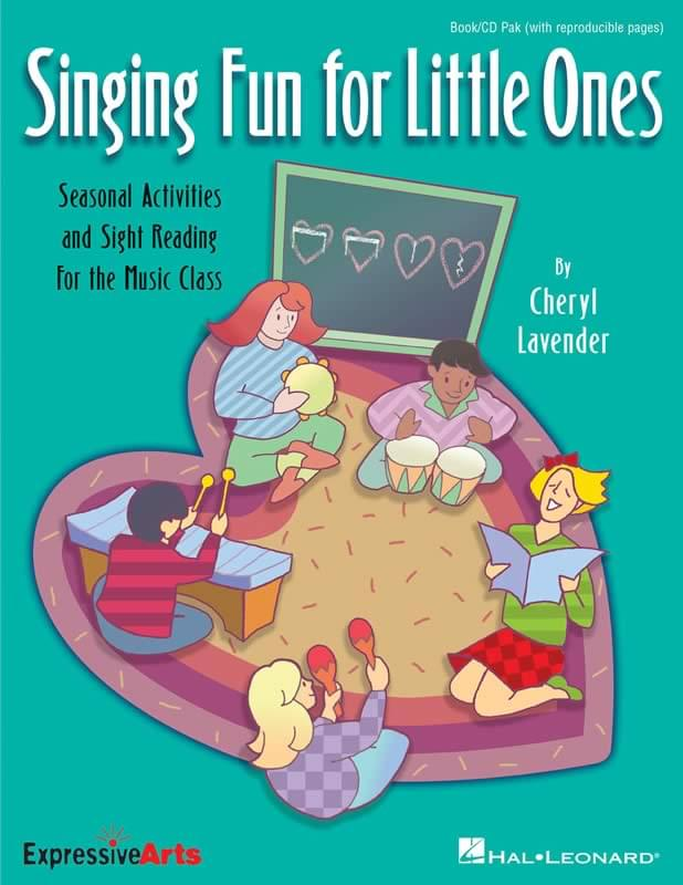 Singing Fun For Little Ones - Book/CD Pak