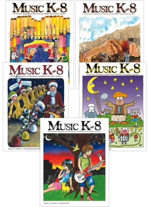 Music K-8 Vol. 17 Full Year (2006-07)