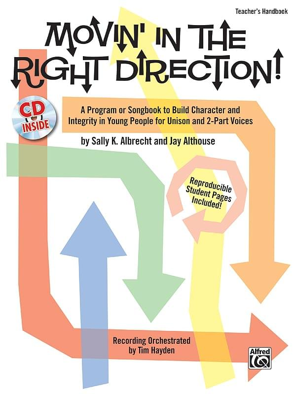 Movin' In The Right Direction! - CD Kit (Teacher's Handbook & P/A CD)