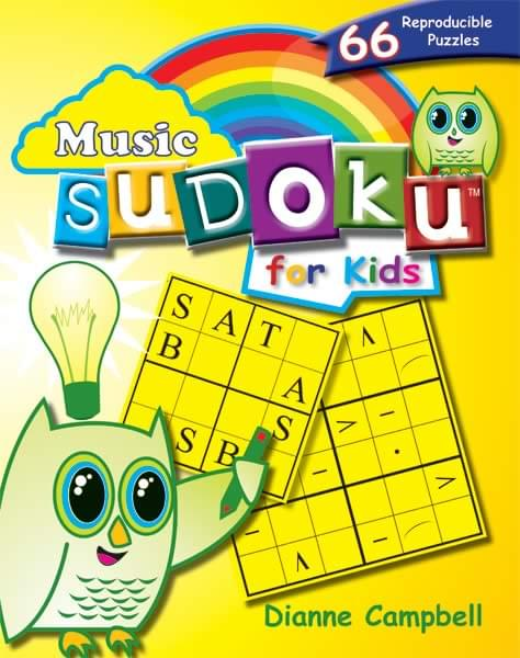 Music Sudoku For Kids - Book