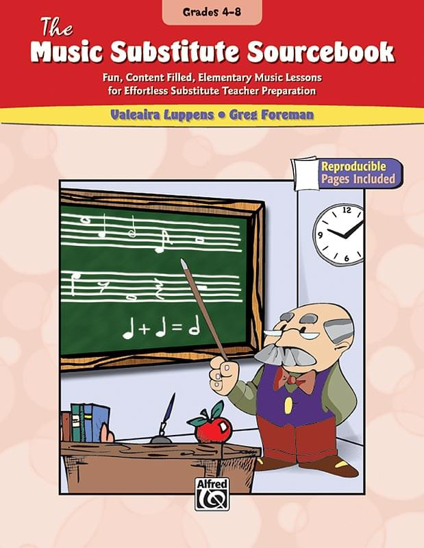 Music Substitute Sourcebook, The (Grades 4-8)