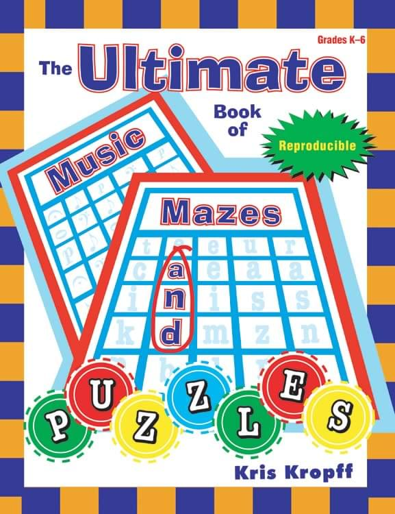 Ultimate Book Of Music Mazes And Puzzles, The