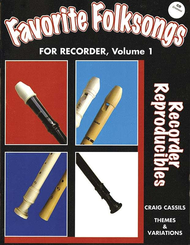 Favorite Folksongs For Recorder, Volume 1
