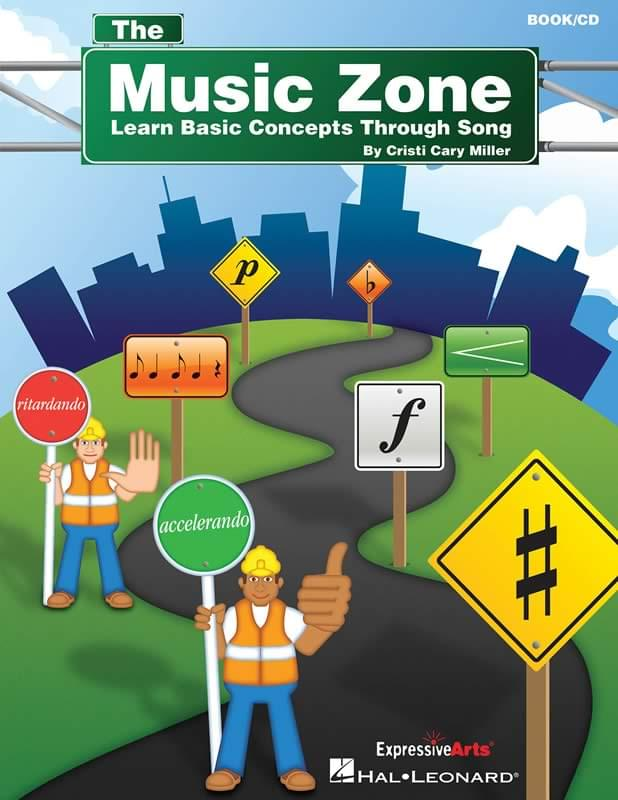 The Music Zone 1 - Book/CD (Blue/Green)