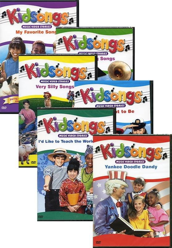 Kidsongs® DVDs