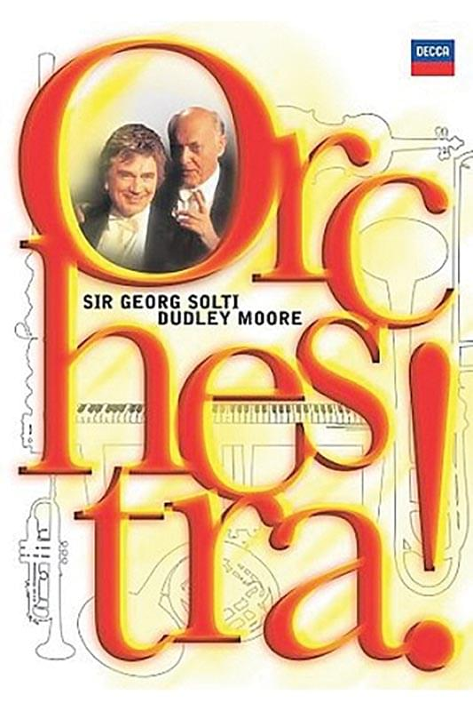 Orchestra! - Sir Georg Solti & Dudley Moore - 2-DVD Set/CD