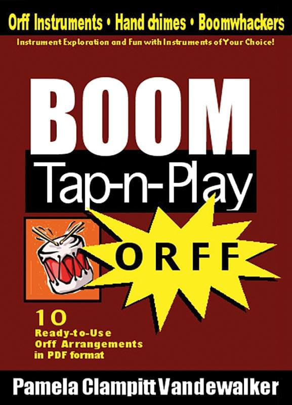 Boom Tap-N-Play - Orff - Enhanced CD-ROM