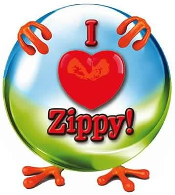 I Love Zippy - Buttons