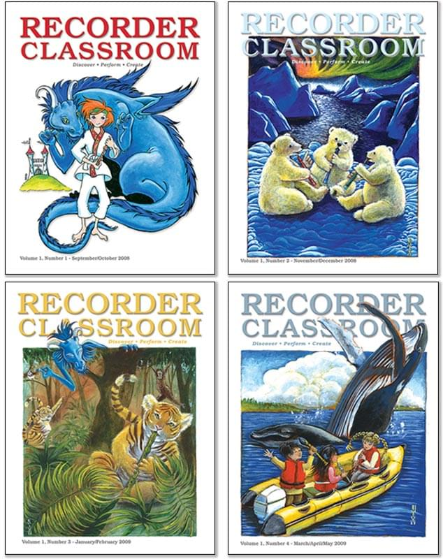 Recorder Classroom, Volume 1 (2008-09)