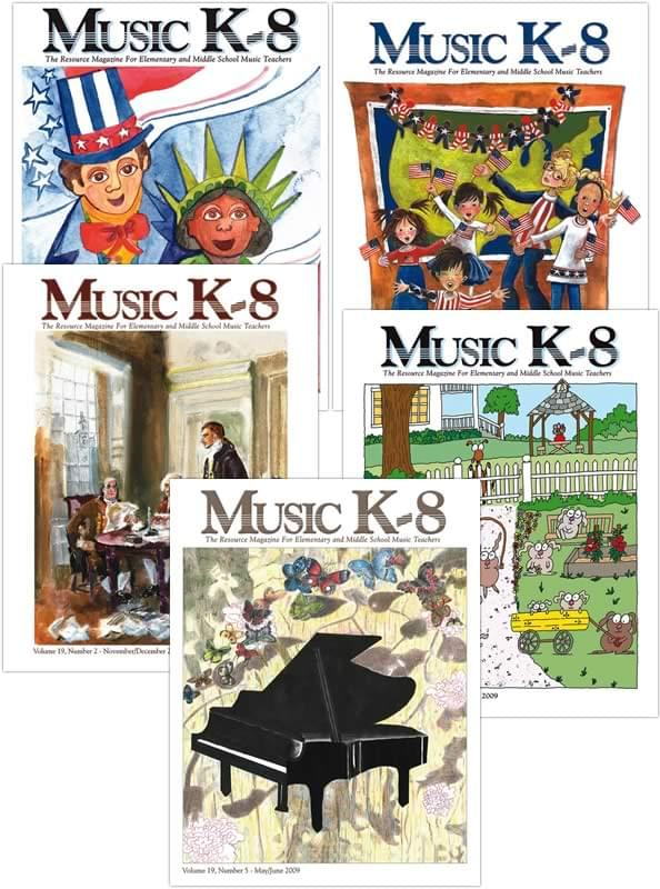 Music K-8 Vol. 19 Full Year (2008-09)
