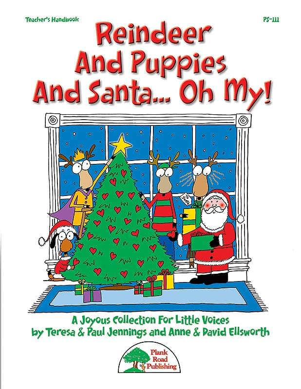 Reindeer And Puppies And Santa... Oh My!