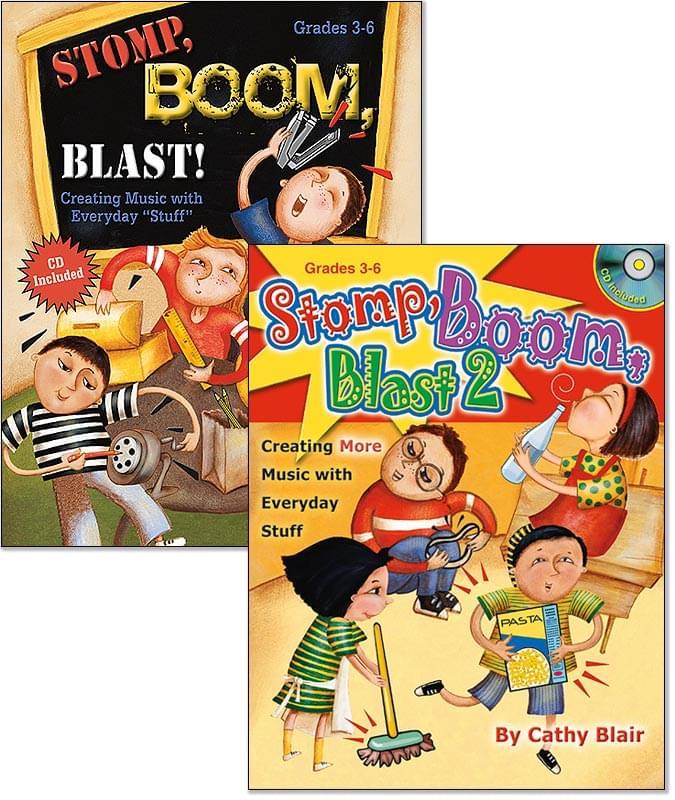 Both Stomp, Boom, Blast Books