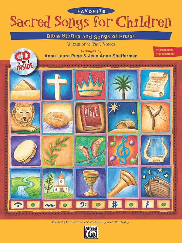 Favorite Sacred Songs For Children - Bible Stories And Songs Of Praise