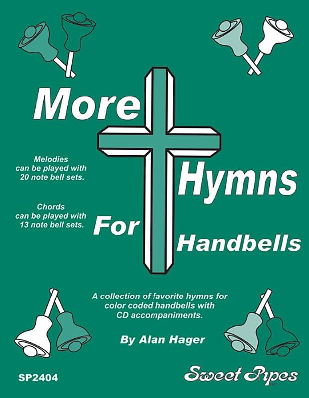 MORE Hymns For Handbells - Book/CD