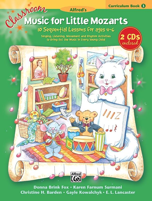 Classroom Music For Little Mozarts - Book 3 - Big Music Book