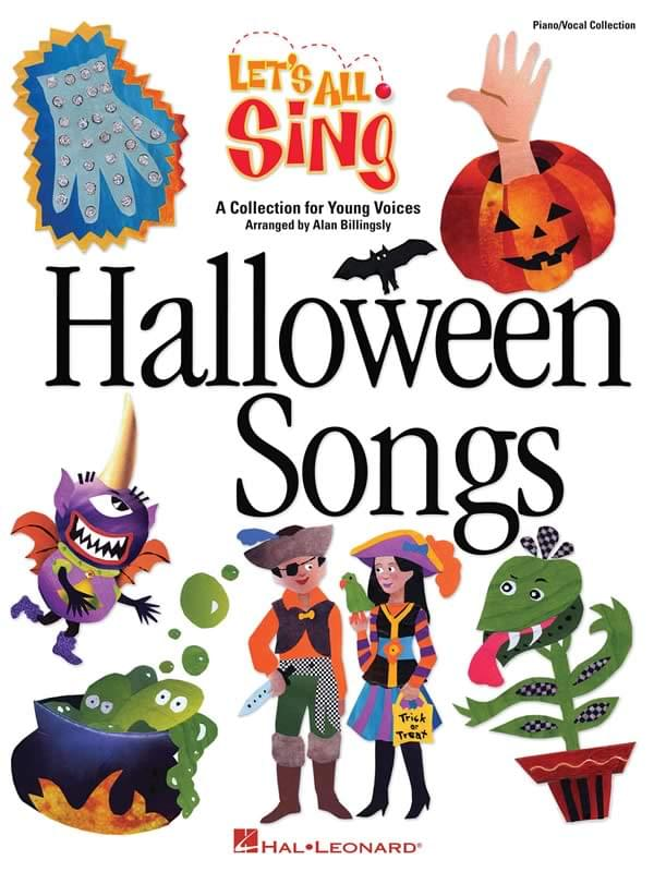 Let's All Sing... Halloween Songs - Teacher's Edition