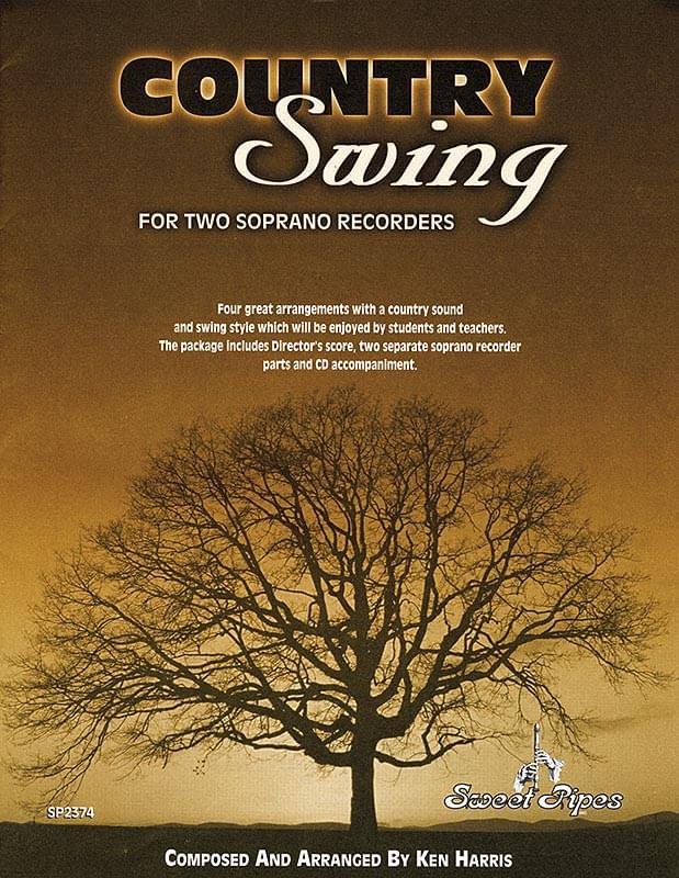 Country Swing - Book/CD/Reproducible Recorder Parts