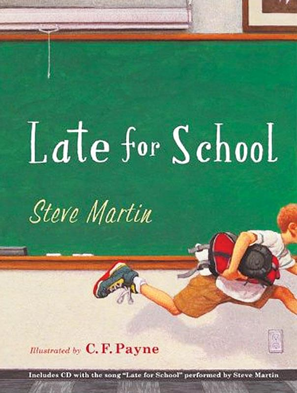 Late For School - Book/CD