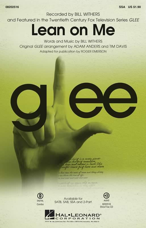 Lean On Me - Bill Withers (Glee)